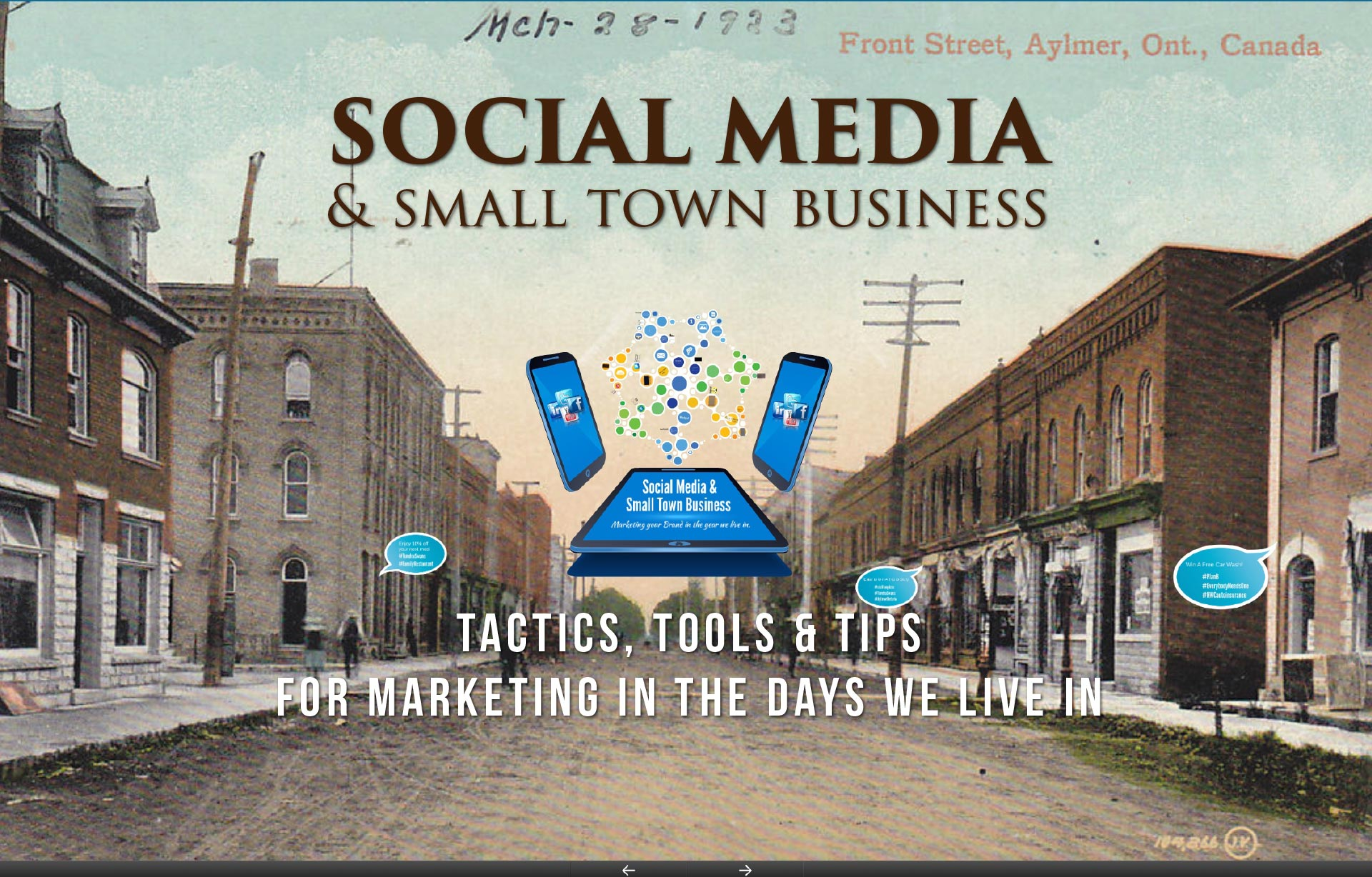 Social Media Marketing and Small Town Business